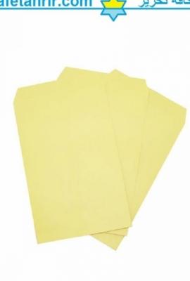 پاکت مقوایی زرد پوشه کاغذی سایز آ 5